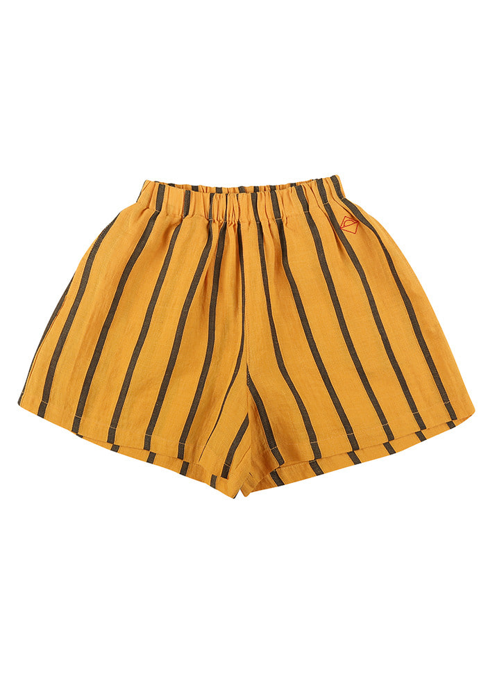 LINEN CULOTTES_Yellow