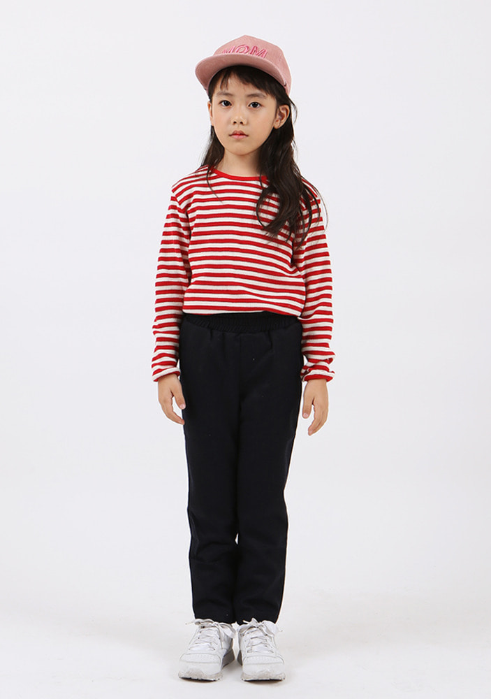 Striped T-shirt_Red_Kids