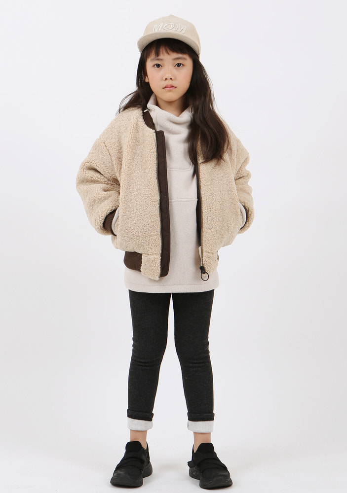 Shearling Bomber Jacket _ Kids