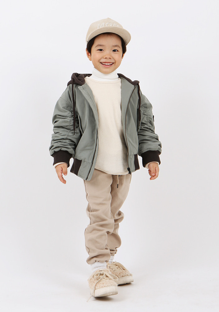 Hooded Bomber Jacket _ Kids
