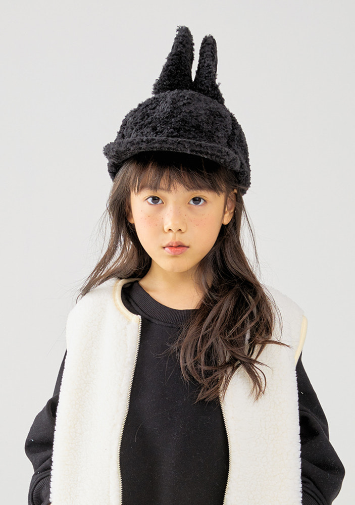 Rabbit Cap_black