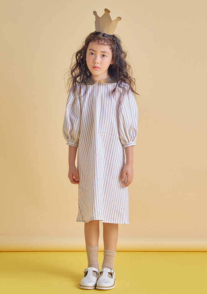 Sleeve Balloon Dress_kids