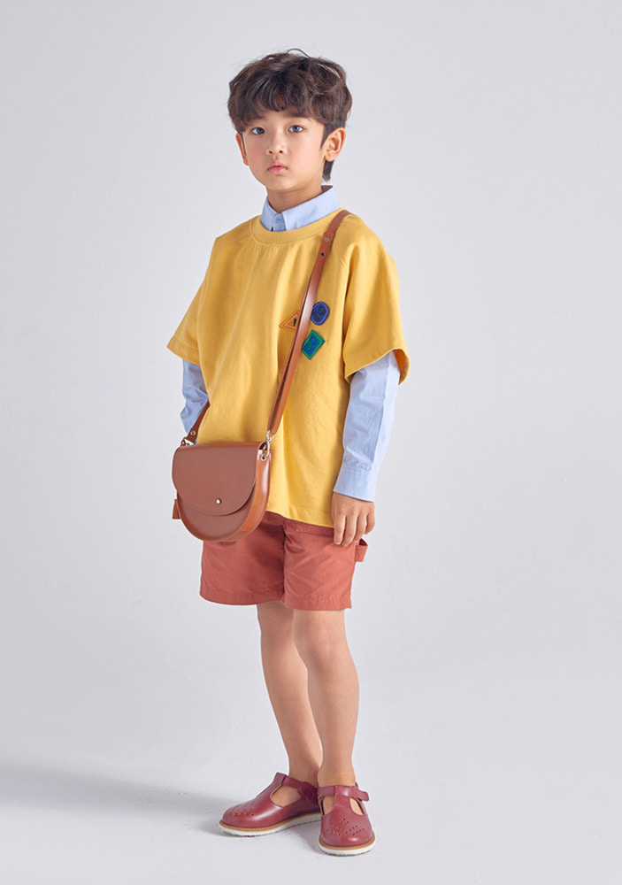 123 T-Shirt_Yellow_Kids