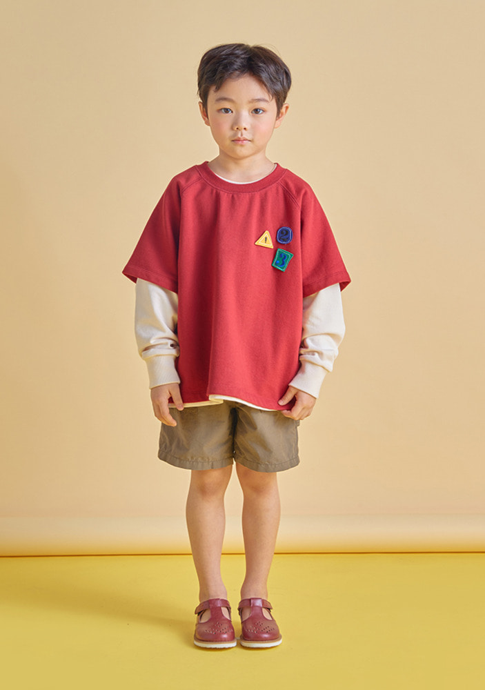 123 T-Shirt_Red_Kids