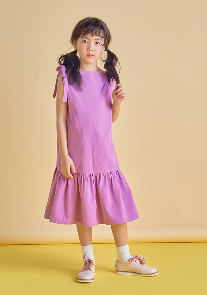 Lip Neck Dress_kids