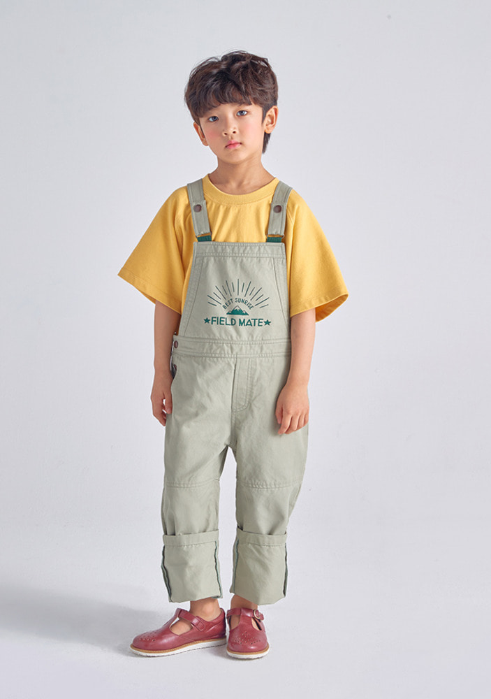 Field Mate Overall_Green_baby