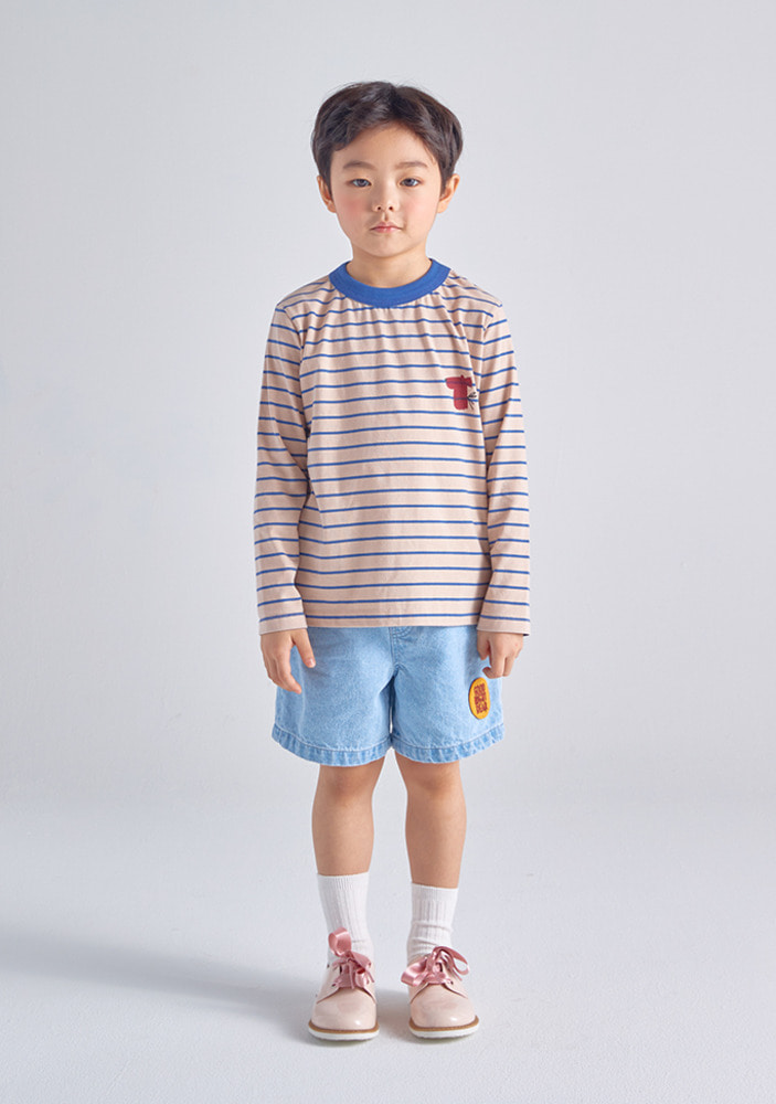 Stripe Long Sleeve T-Shirt_Kids
