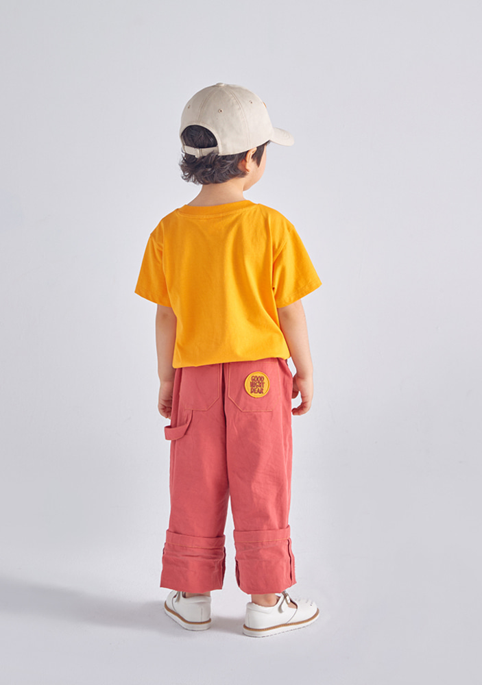 Work Ankle Pants_Brick Red
