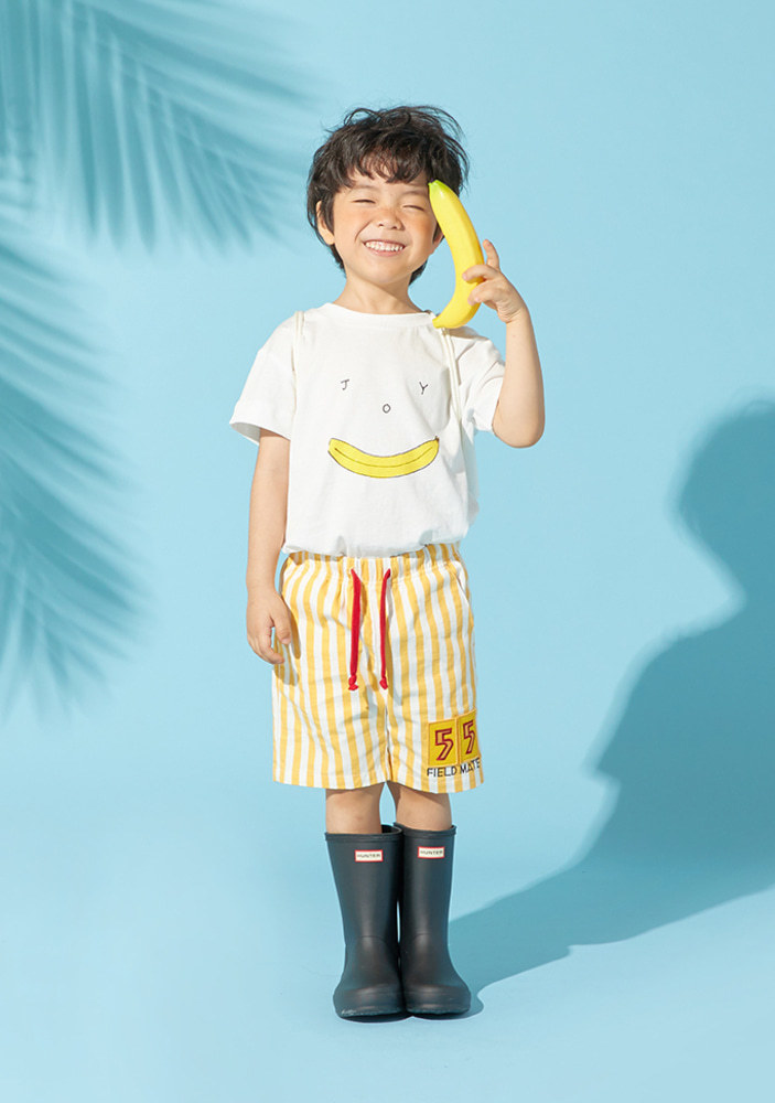 Stripe 55 Shorts_Yellow_Baby