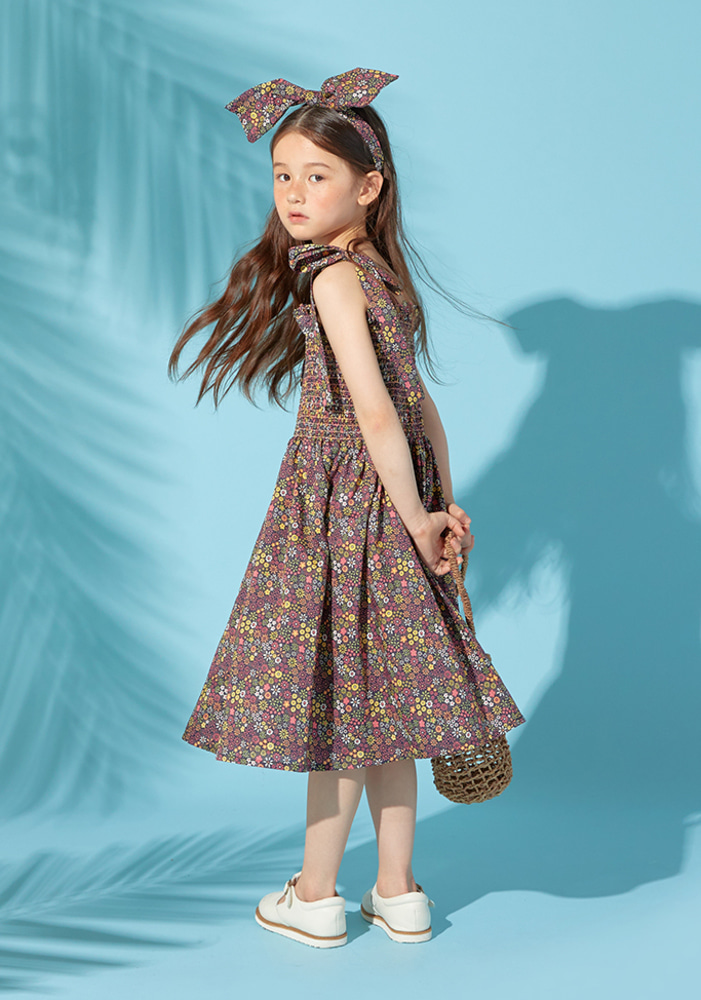 Floral sleeveless Dress_Baby