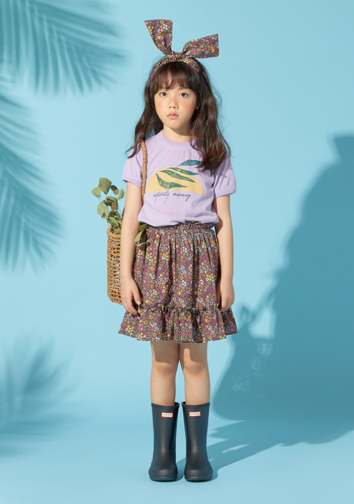 Floral Frill Skirt_Baby