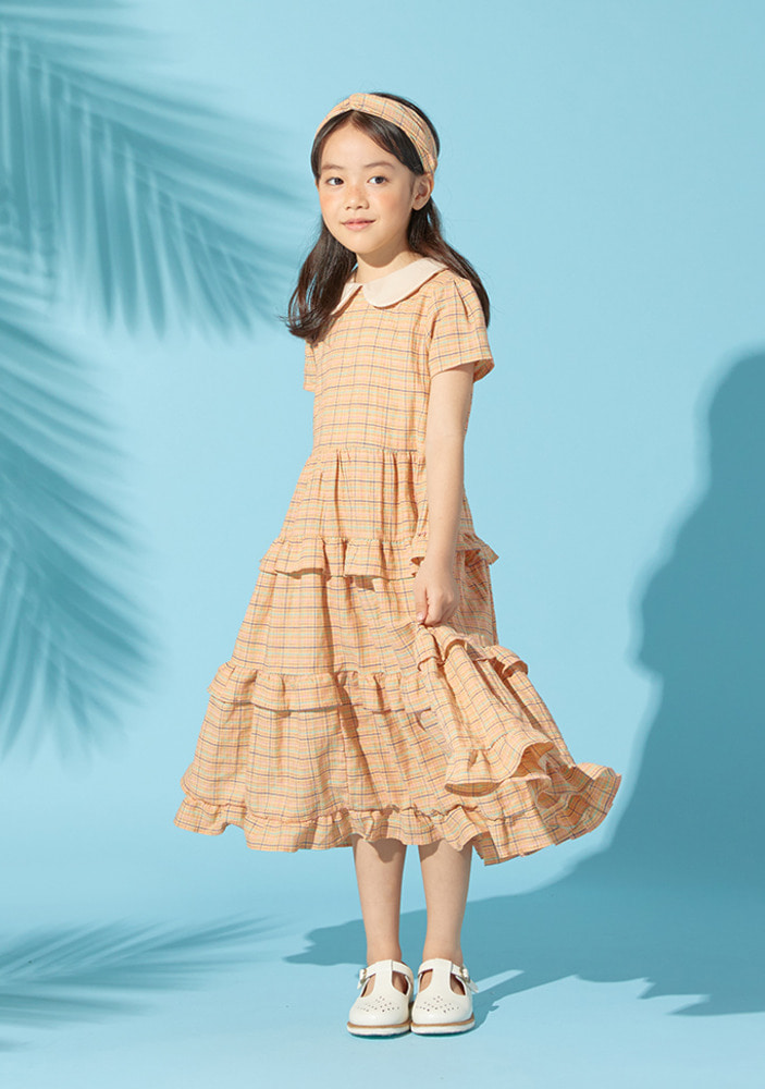 Princess Check Dress_Baby