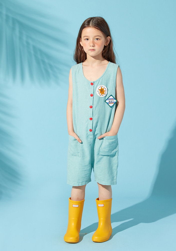 Fine Art Jumpsuit_Mint_Baby