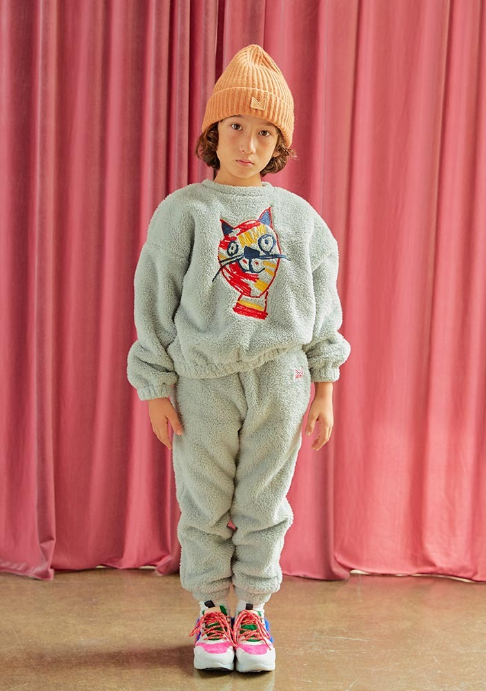 Triple Cat Shearling Set_Kids_#2