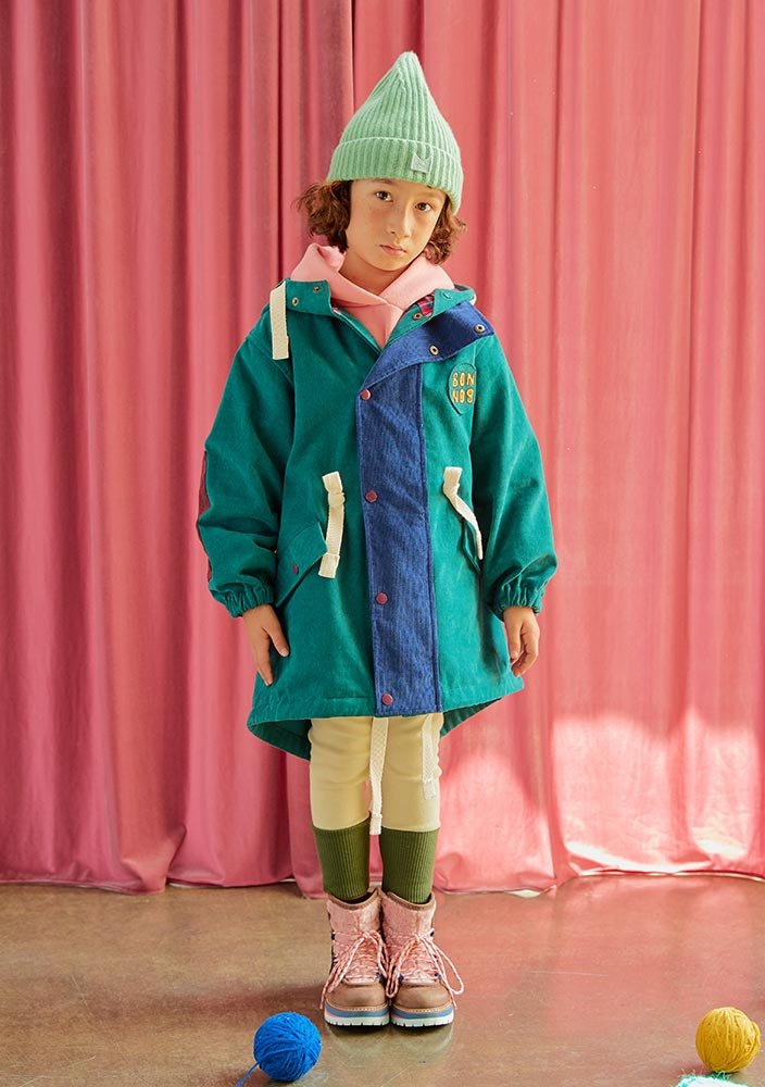 BONBON coat_green_Kids_#3