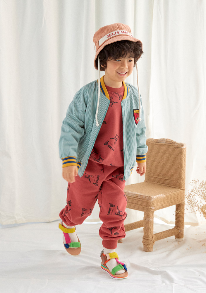 ★Honeybee Bomber Jacket_Kids