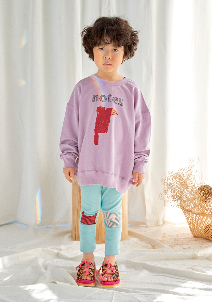 Mallow Leggings_Kids_Blue