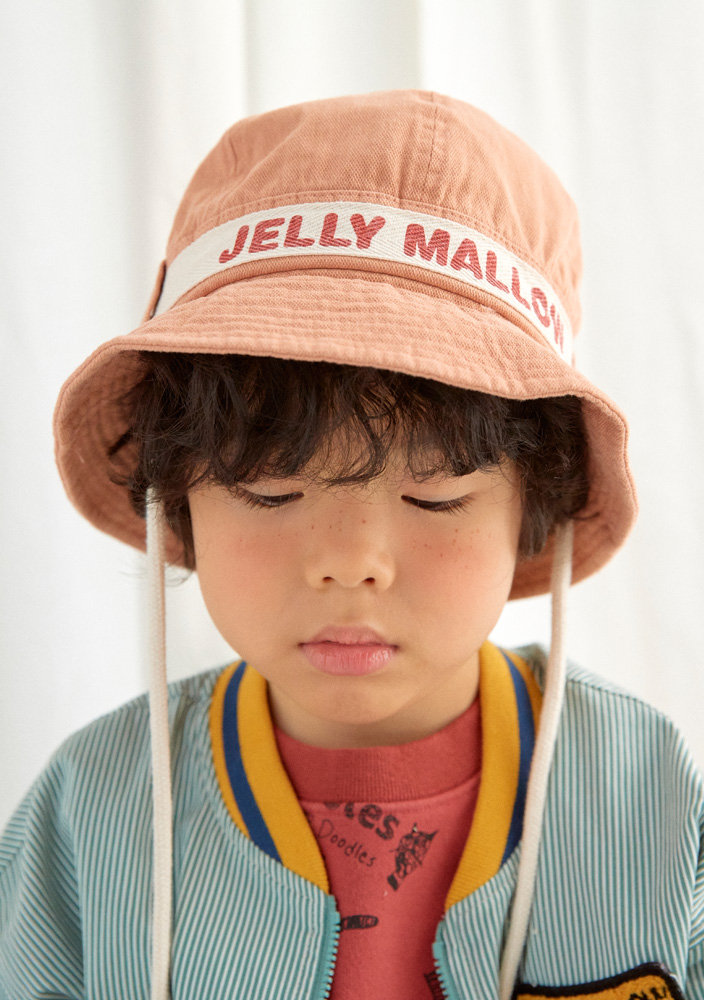 Adventure Safari bucket hat_Peach