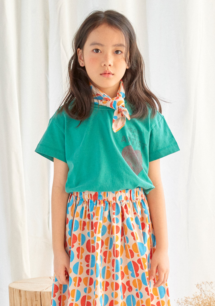 Artist Heart Short Sleeve T-shirt_Kids