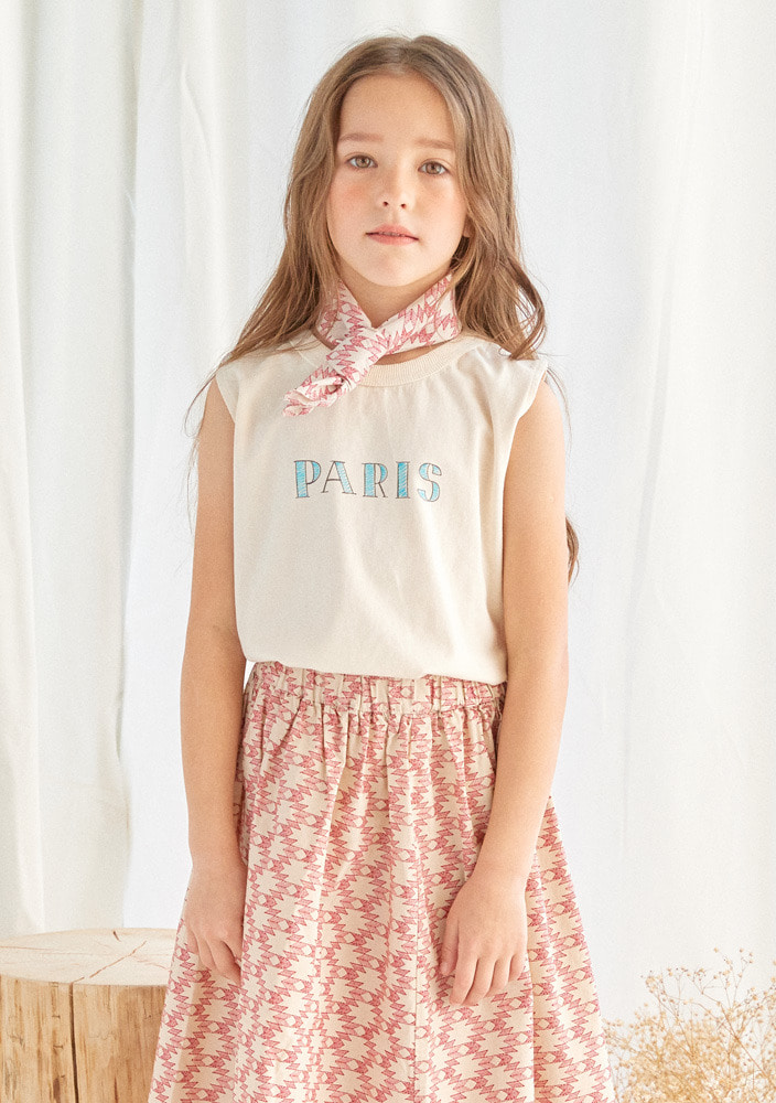 ★Paris Sleeveless Shirt