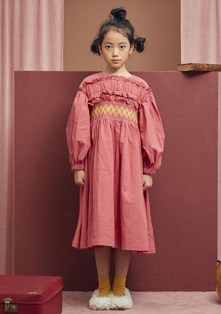 LITTLE PRINCESS DRESS_Pink