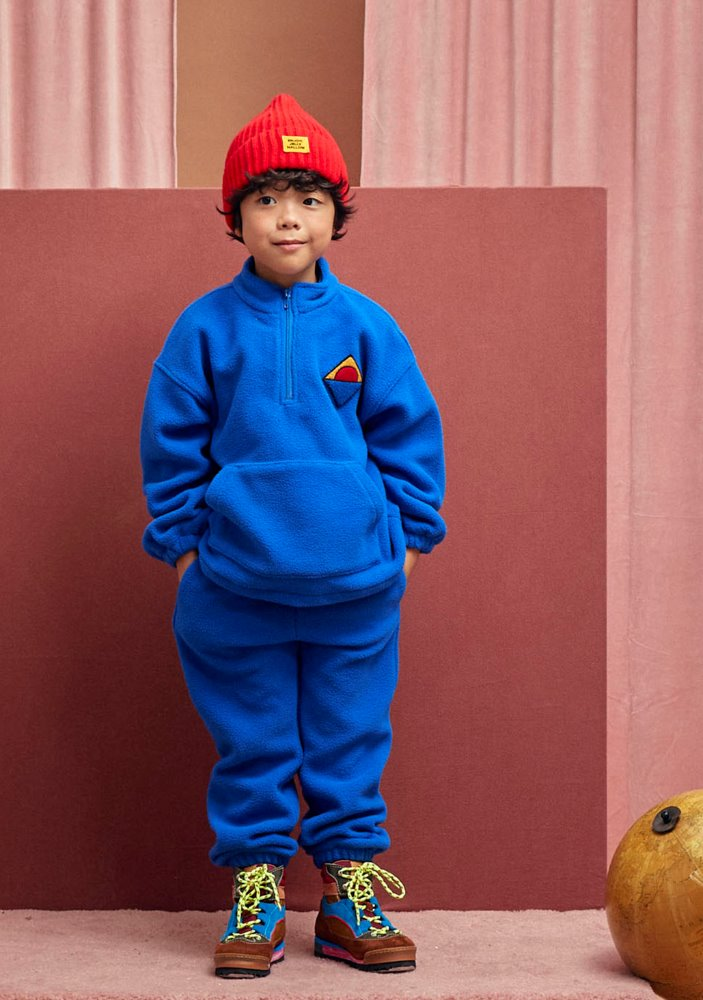 ★HALF-ZIP SWEATSHIRT & LOUNGE PANTS_Blue