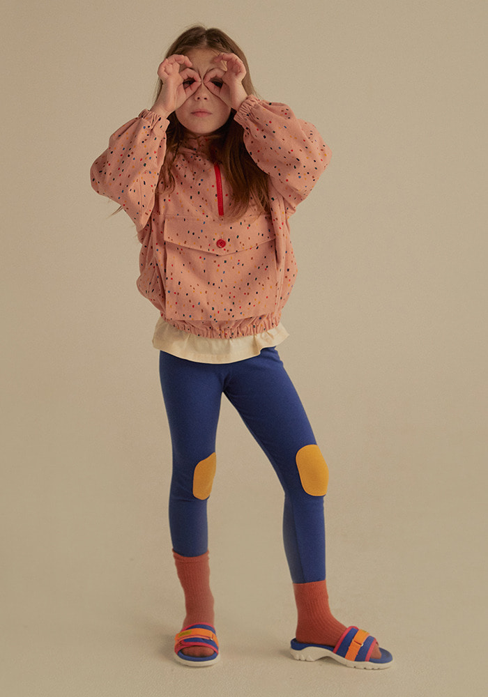PICNIC PATCH LEGGINGS_Bule_Kids