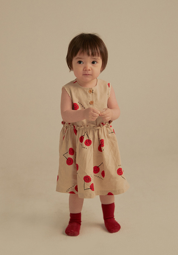 CHERRY FRIENDS DRESS_Baby