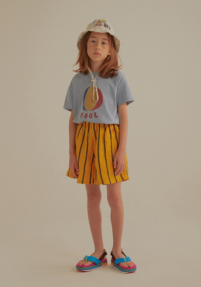 BEACH BALL SHORT SLEEVE T-SHIRT_Blue_Baby
