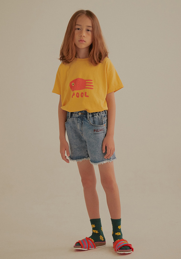 POOL SHORT SLEEVE T-SHIRT_Baby