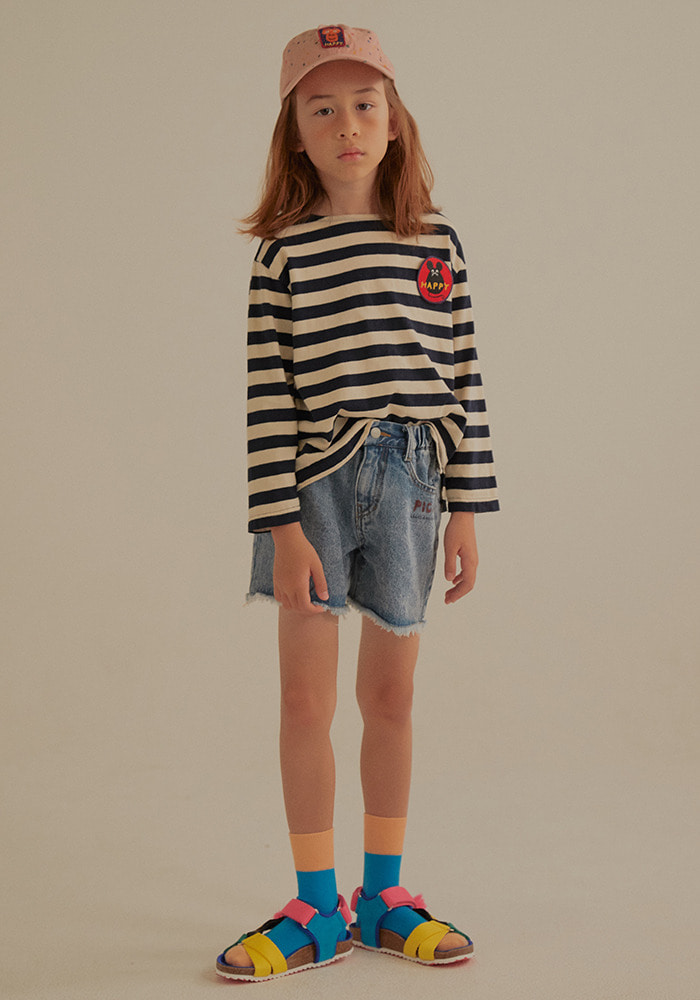 STRIPED LONG SLEEVE T-SHIRT_Baby