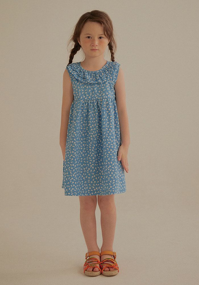 FLOWER FRILL DRESS_Baby