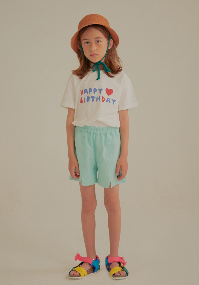 TULIP COTTON SHORTS_Mint_Baby#2