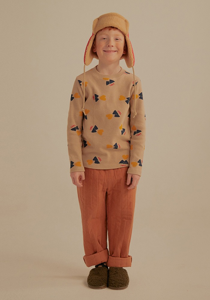 TOUT PATTERN LONG SLEEVE T-SHIRT_Kids