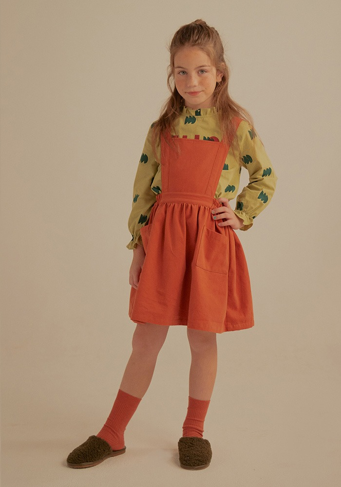 JM APRON DRESS_Brick_Kids