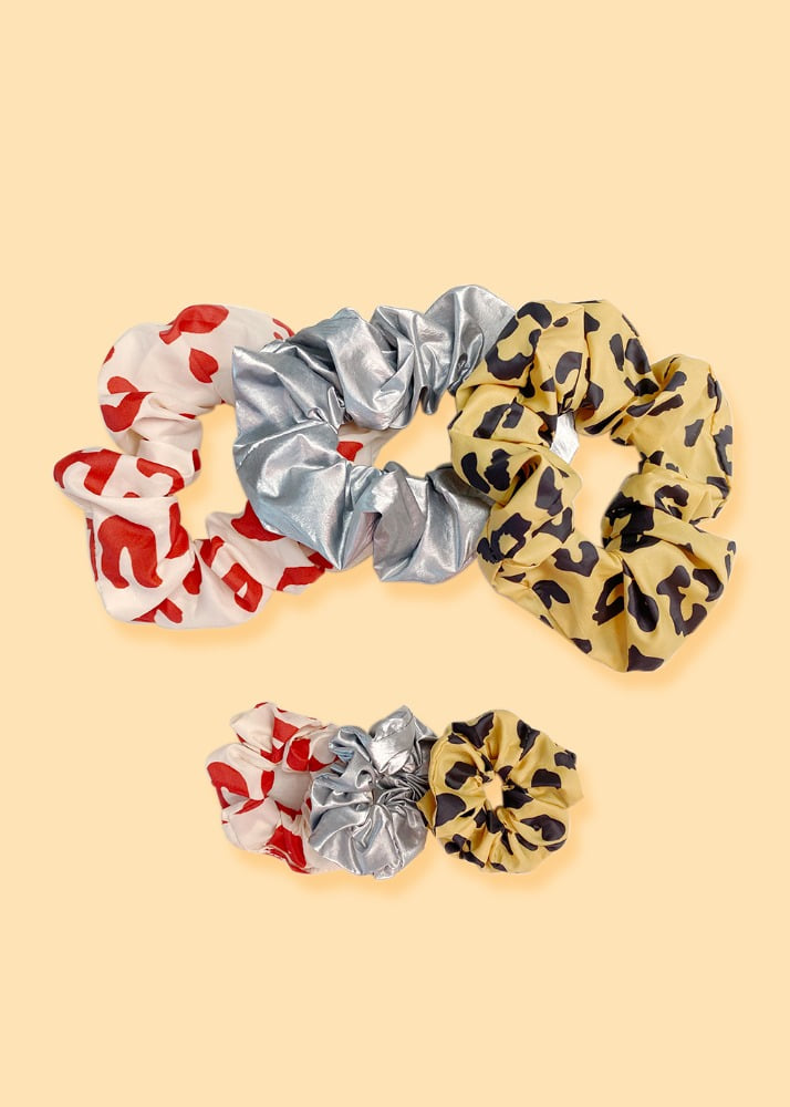 SCRUNCHIE SET(2+1)