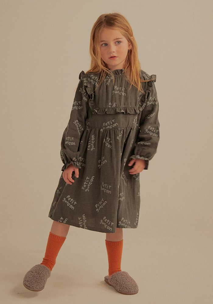 PETIT GARCON FRILL DRESS_Kids