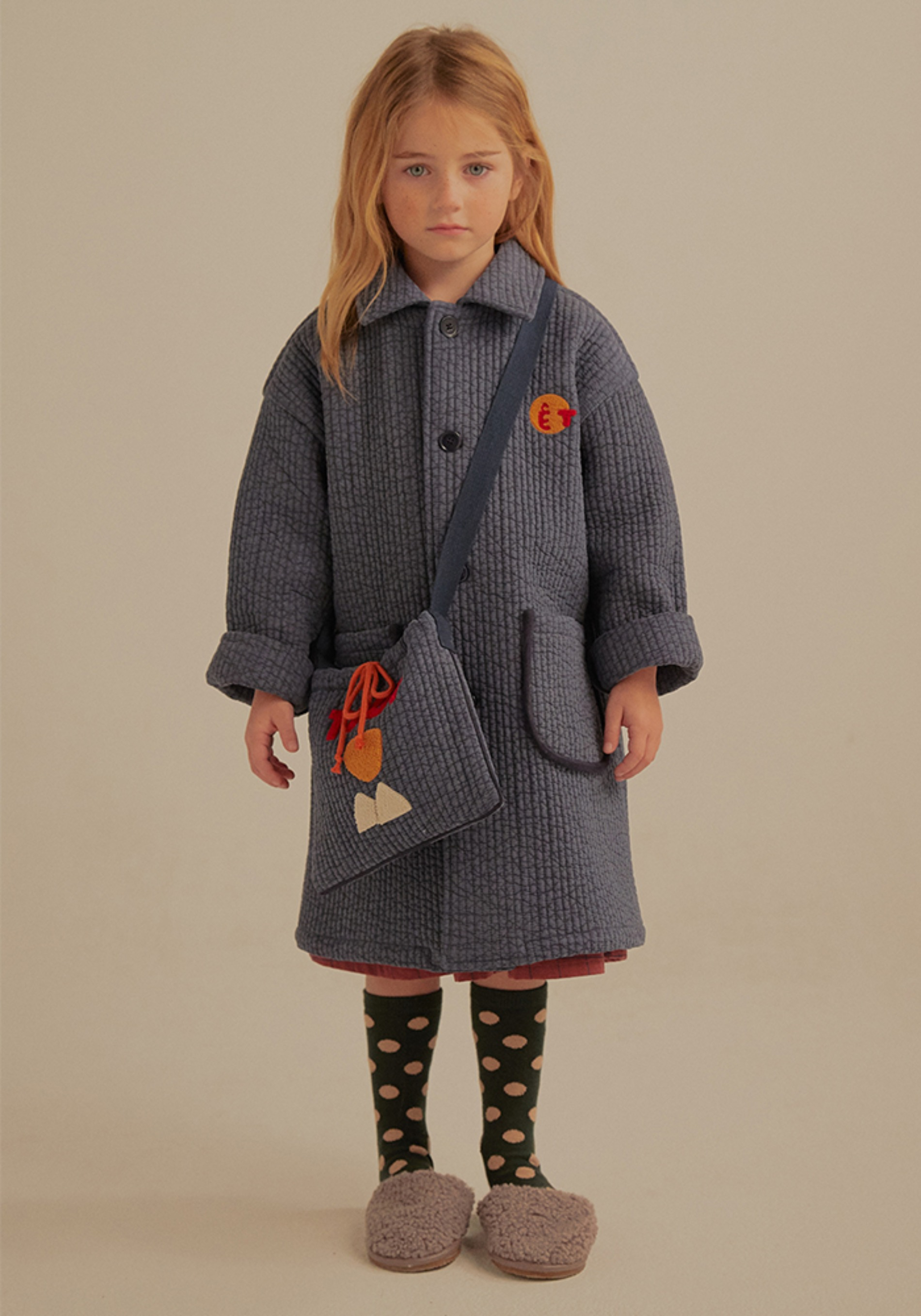 ETRE QUILTED COAT_Kids