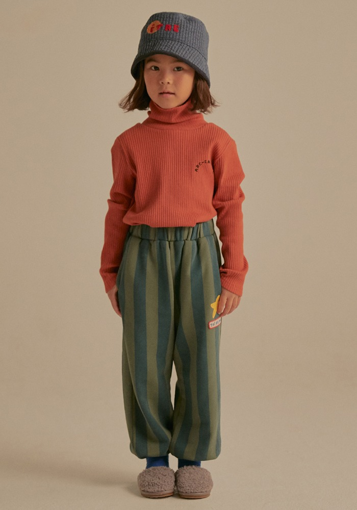 ARM WARMER TURTLENECK_Brown_Baby