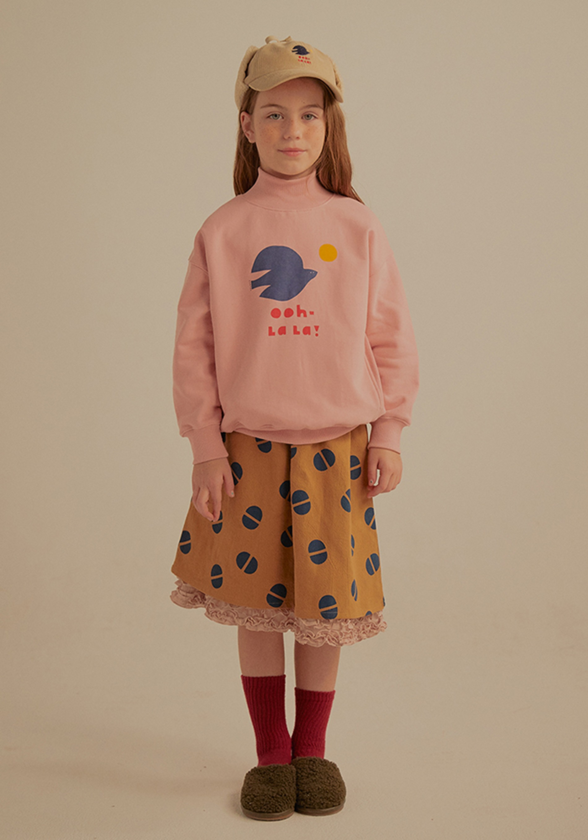 BIRD TURTLENECK SWEATSHIRT_Kids#2