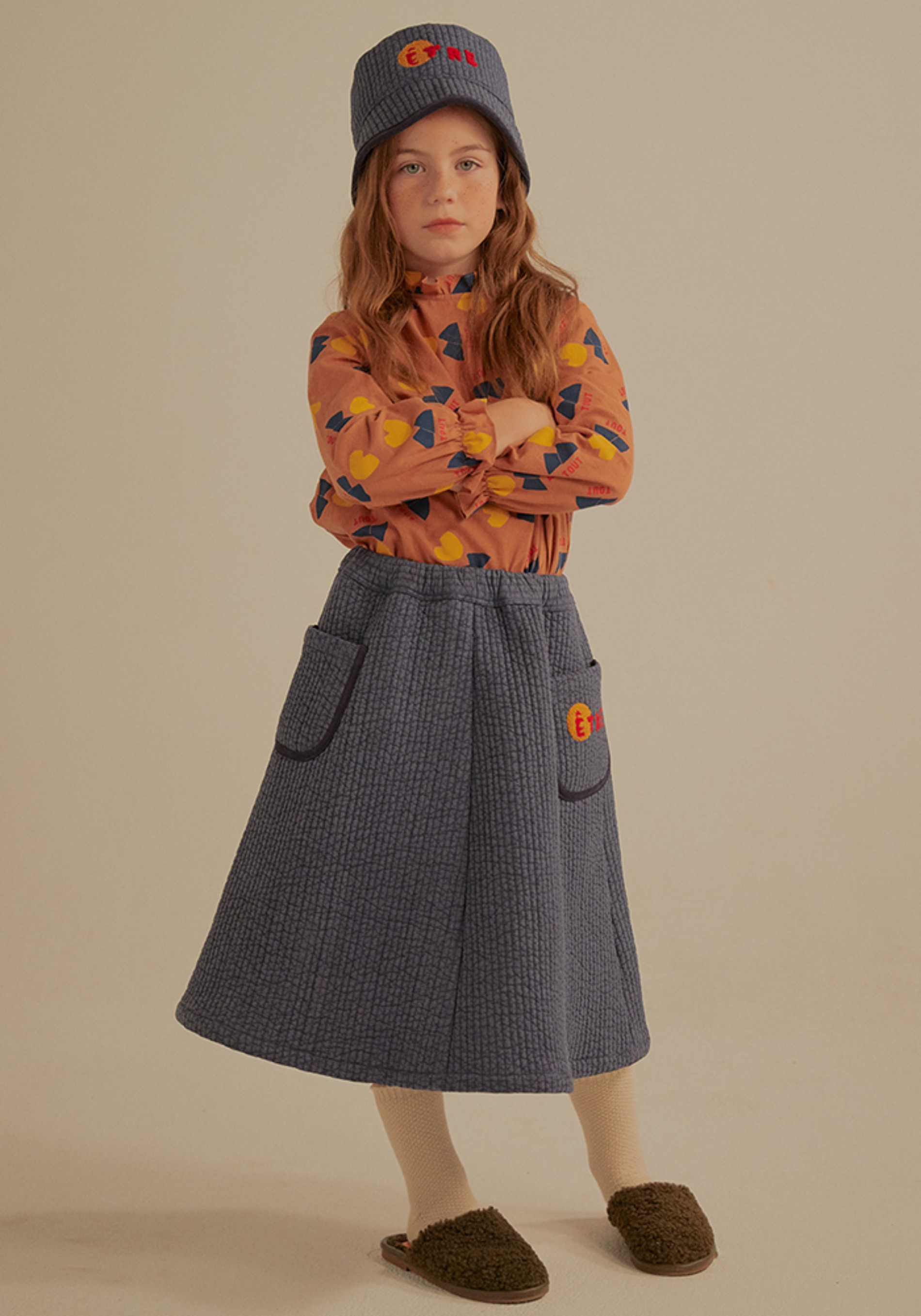 ETRE QUILTED SKIRT_Kids