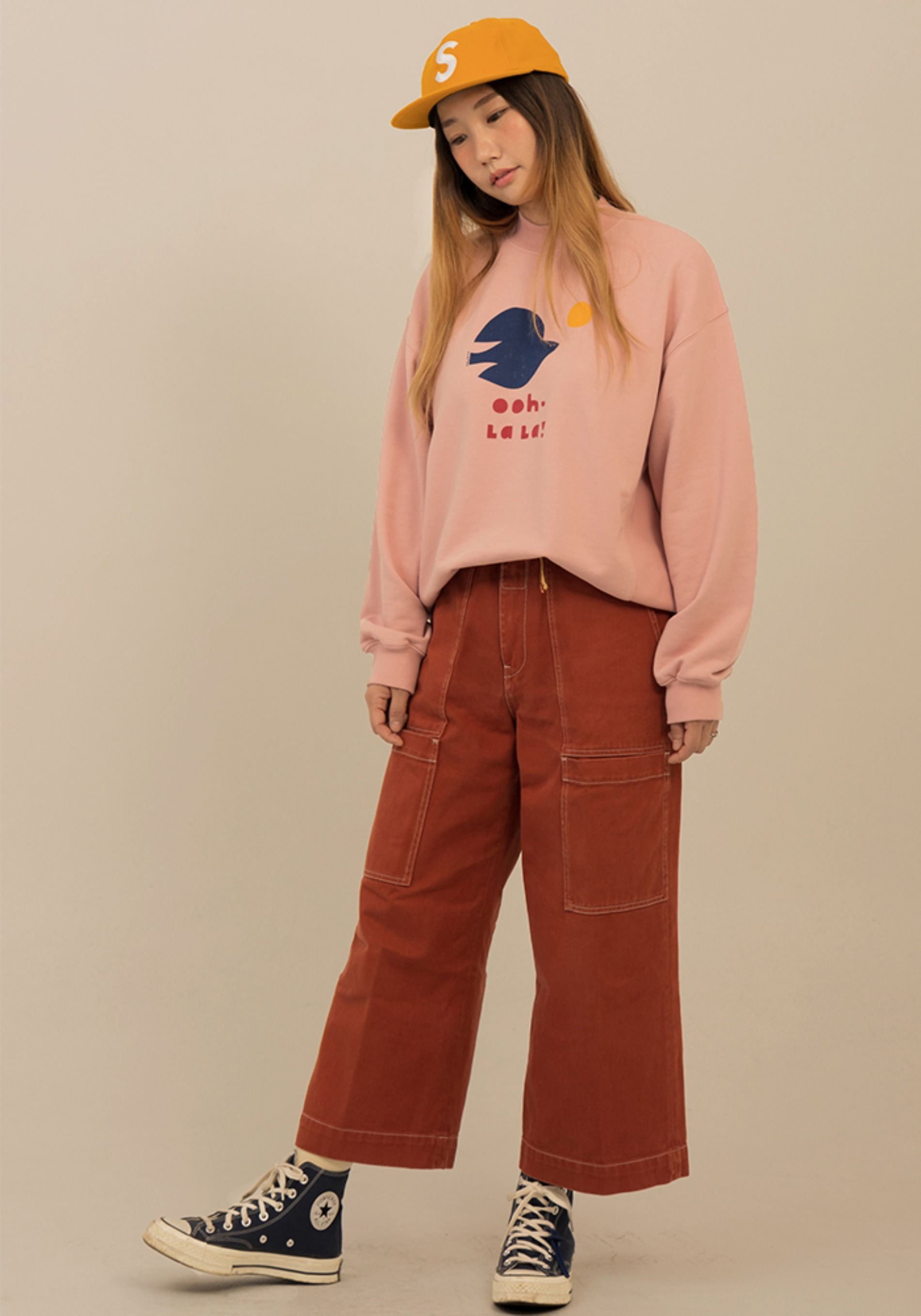 BIRD TURTLENECK SWEATSHIRT_Adult