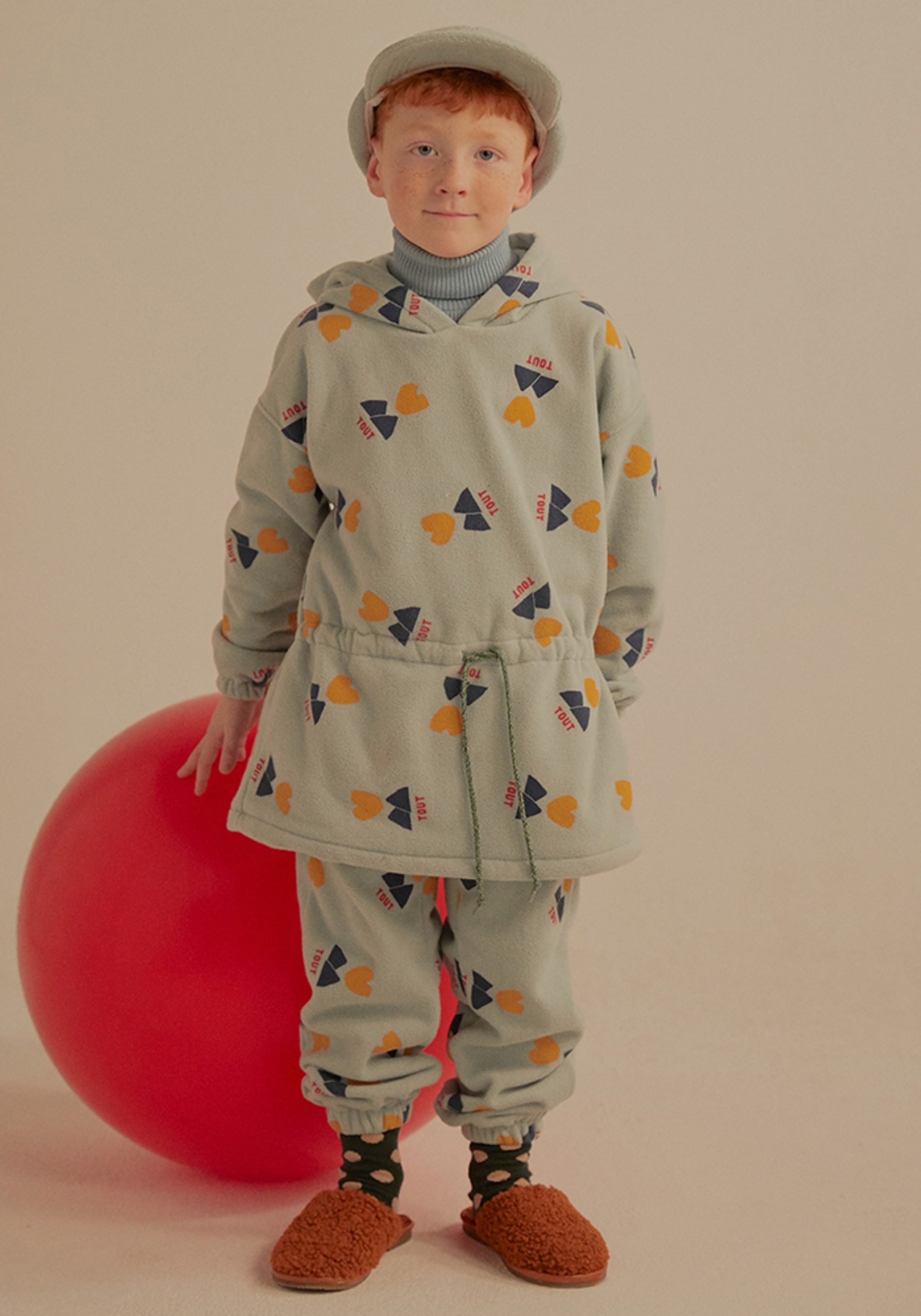 TOUT FLEECE LOUNGE PANTS_Kids