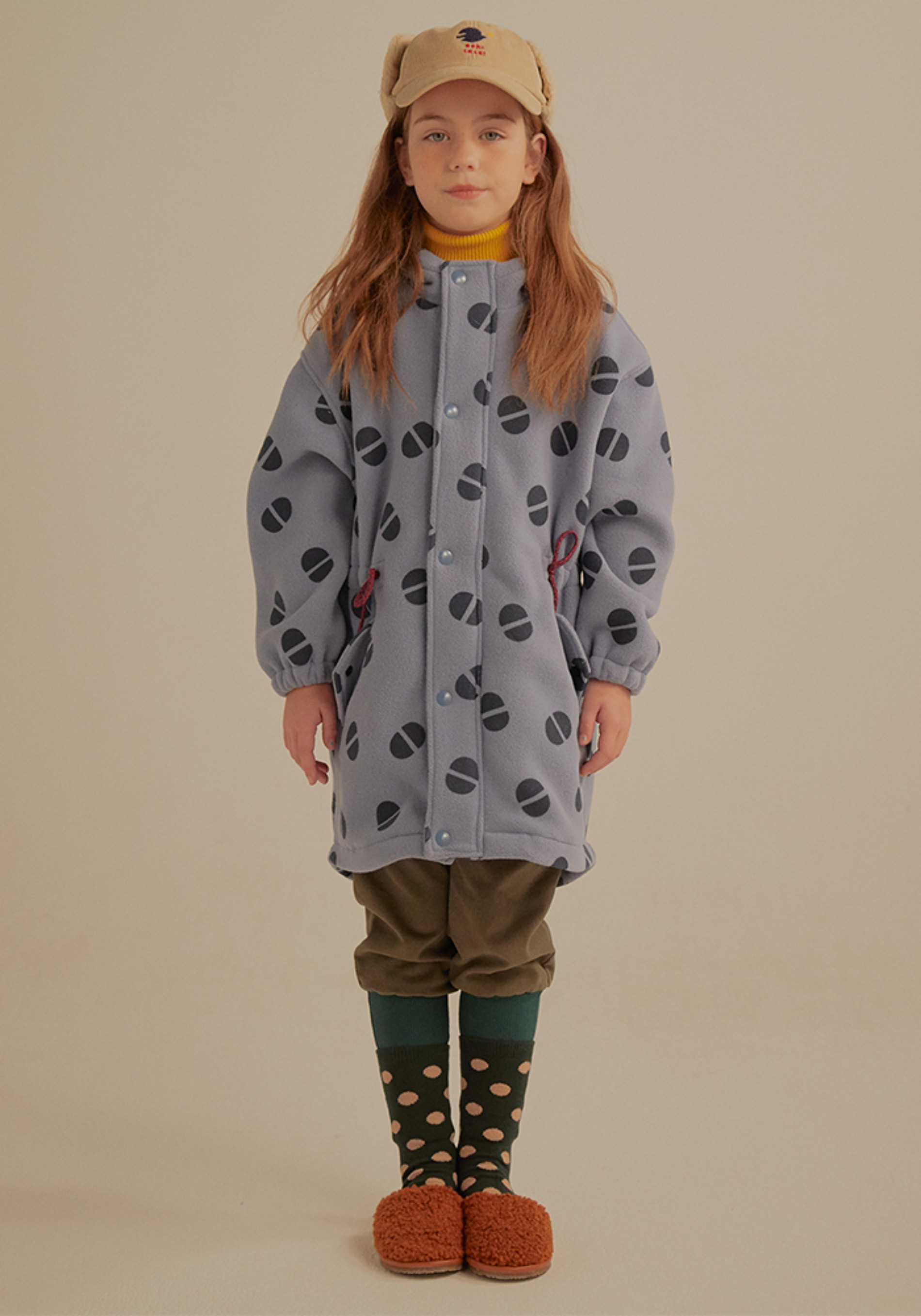 WARM FLEECE FIELD JACKET_Kids