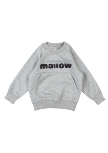 Raglan SweatShirt_Kids_Grey
