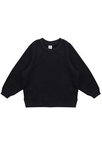 OverSized SweatShirt_Kids_Black