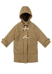 Beige Duffle Coat _ Kids