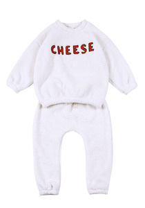 Cheese Shealing Set_Ivory_Kids