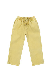 Corduroy Pants_Yellow_Kids