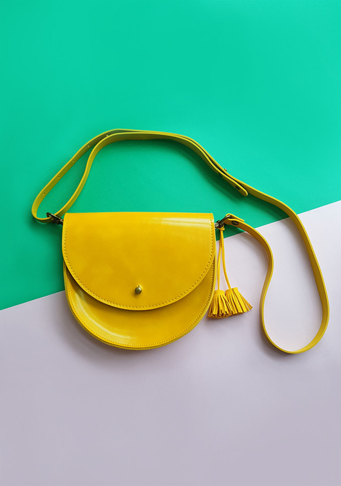 Half-Moon Bag_Yellow